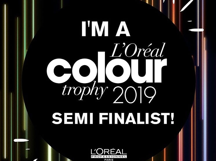 L'Oreal Colour Trophy Semi Finalist